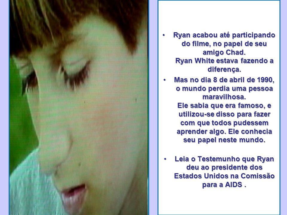 •Ryan acabou até participando do filme, no papel de seu amigo Chad.