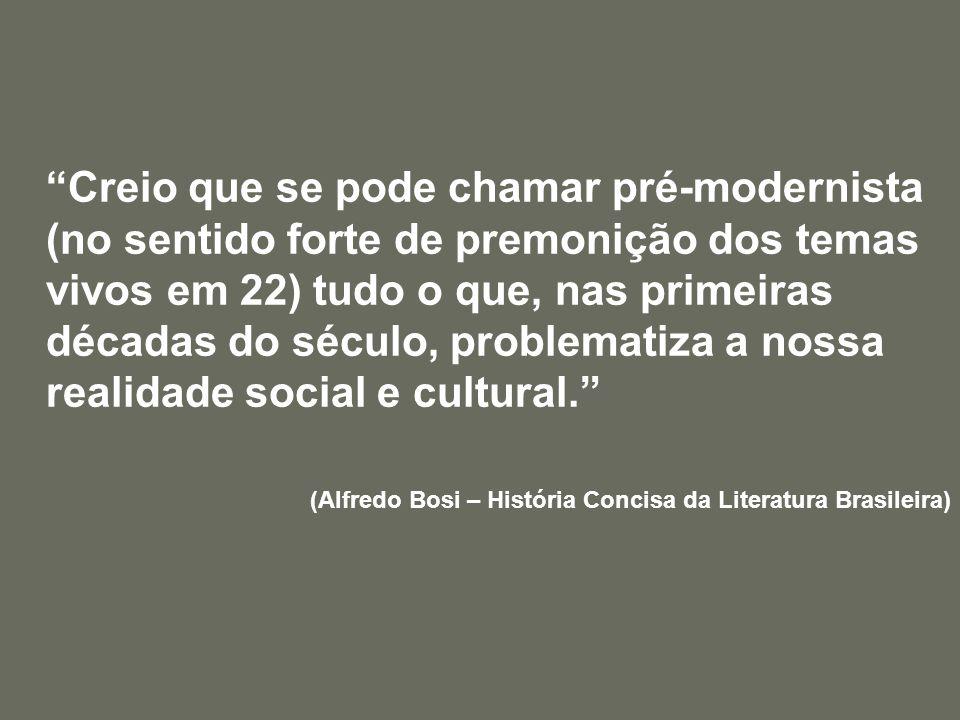 Poesia Pré-Modernista Augusto dos Anjos