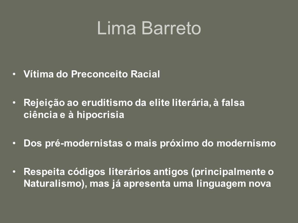 Principais Obras •Cidades Mortas (crise no vale do Paraíba) •Urupês (O problema do Caboclo) •Negrinha (Racismo pós-abolição)