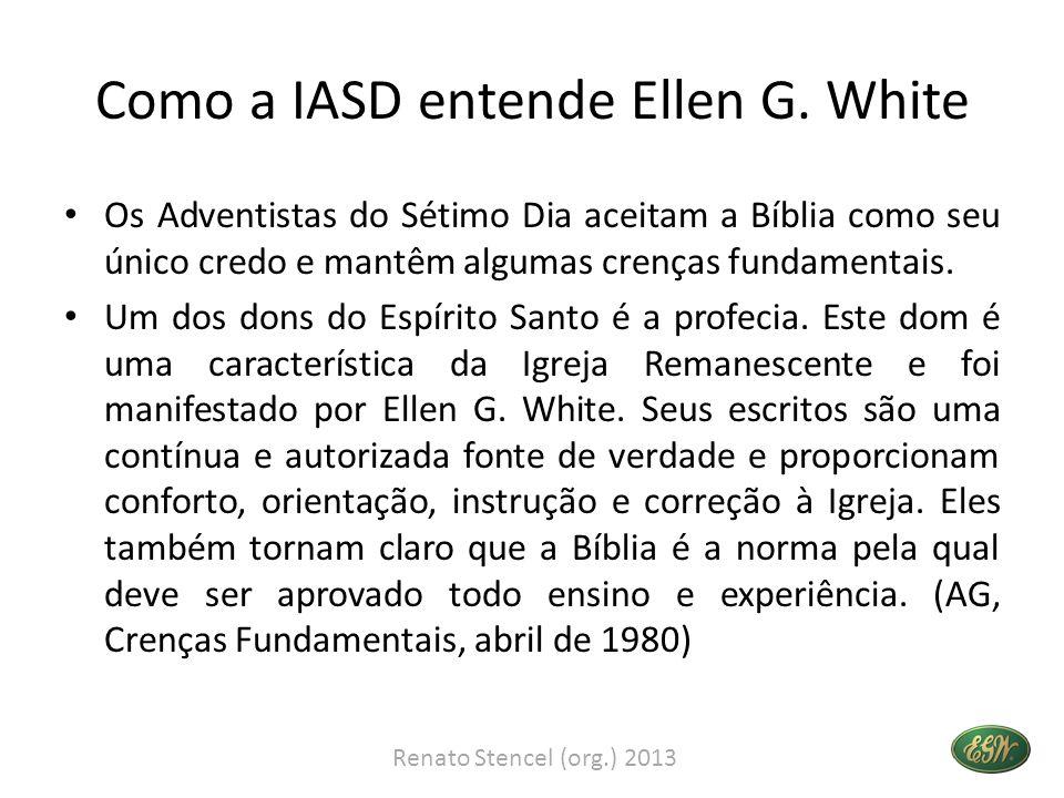 Como a IASD entende Ellen G.