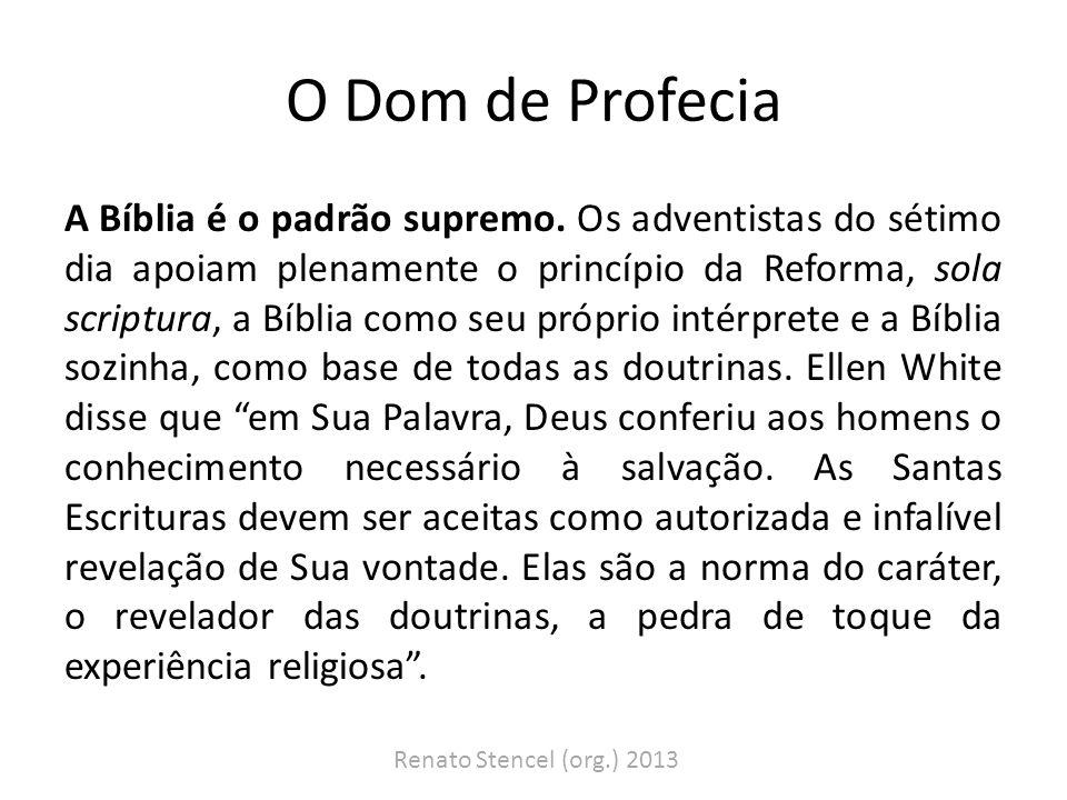O Dom de Profecia Um guia para entender a Bíblia.