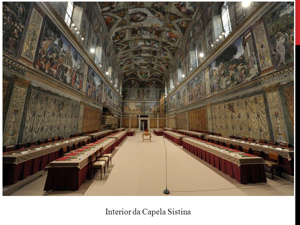 Interior da Capela Sistina