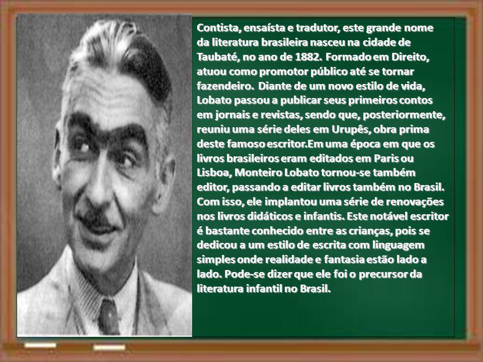 Contista, ensaísta e tradutor, este grande nome da literatura brasileira nasceu na cidade de Taubaté, no ano de 1882. Formado em Direito, atuou como p