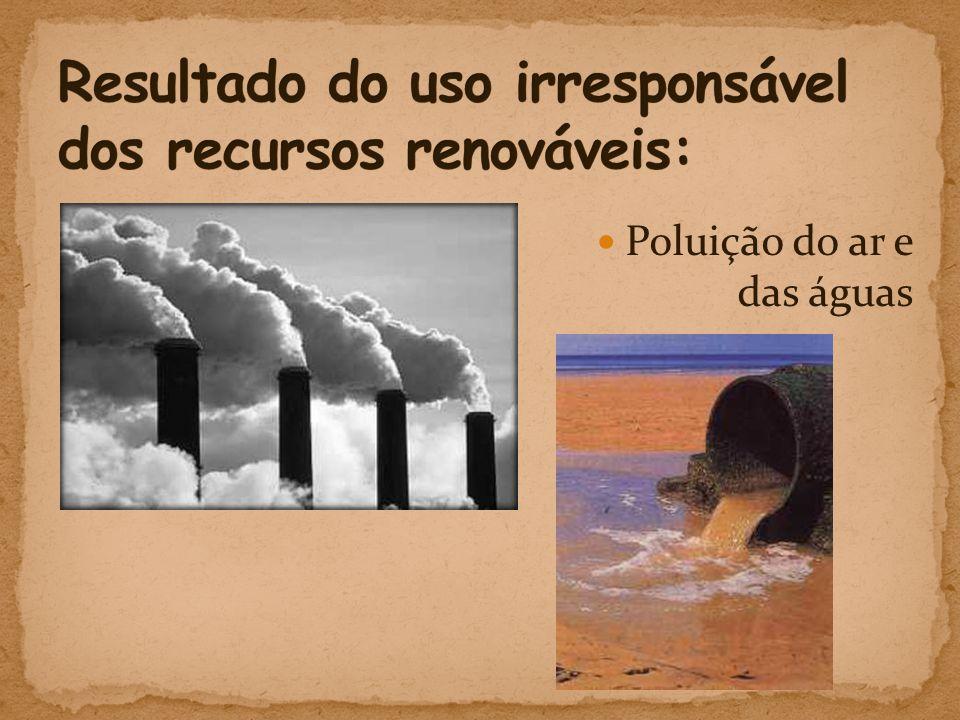  Poluição do ar e das águas