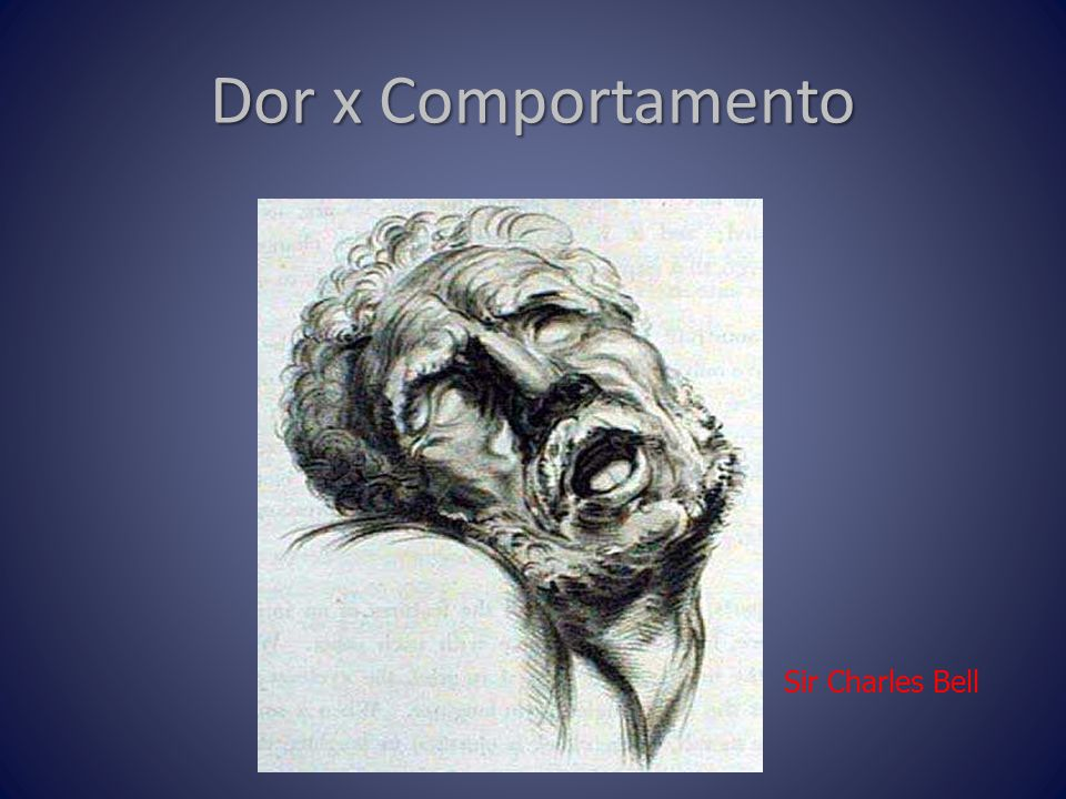 Sir Charles Bell Dor x Comportamento