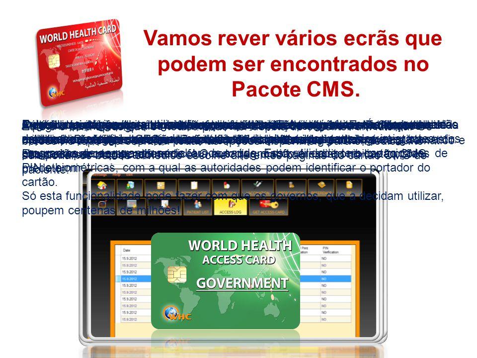 THE SYSTEM O ecrã inicial é sempre o mesmo, o paciente ou o médico têm a liberdade de escolher o seu idioma nativo: Esta é uma imagem capturada do qui