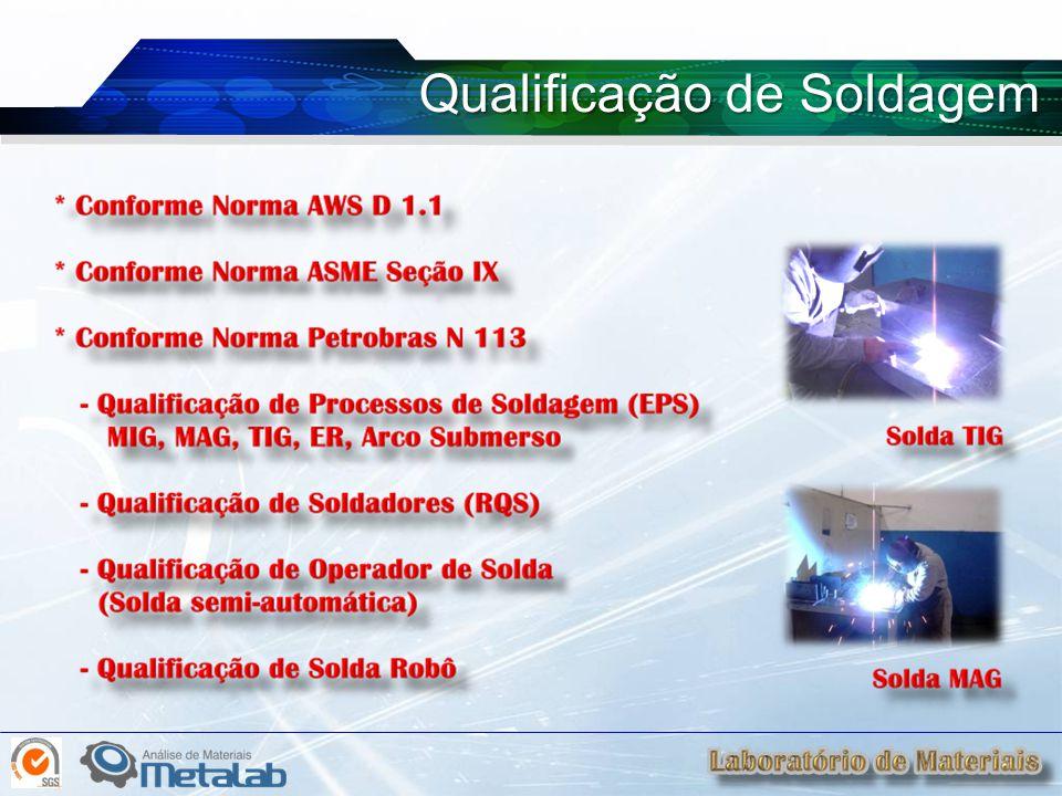 Qualificação de Soldagem