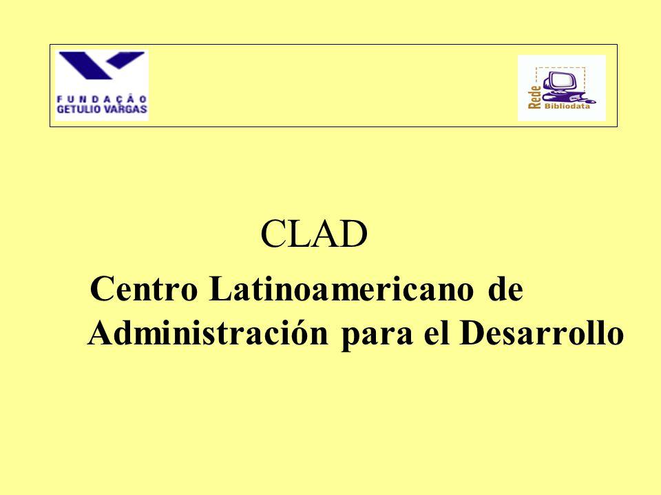 CLAD Centro Latinoamericano de Administración para el Desarrollo