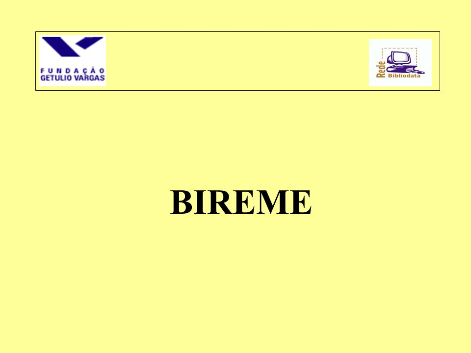•1967 - BIREME é um Centro Especializado da OPAS (Organização Pan-Americana de Saúde) •O Sistema Latino-Americano e do Caribe de Informação em Ciências da Saúde (Sistema Regional) e a BIREME, ao longo de 30 anos, desenvolveram com êxito a capacidade dos países da Região de criar e operar sistemas nacionais de informação científico-técnica.