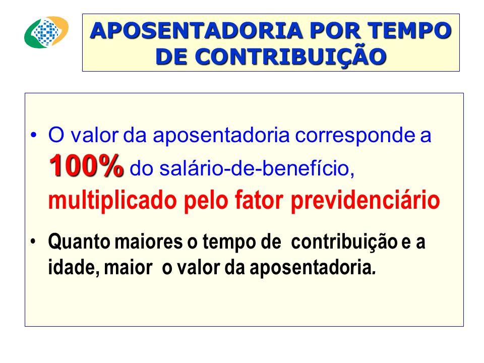 APOSENTADORIA POR TEMPO DE CONTRIBUIÇÃO •Benefício devido ao segurado que completar um período mínimo de contribuição ao sistema previdenciário; 35 an
