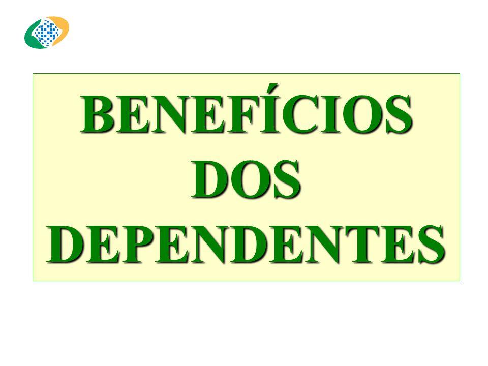 BENEFÍCIOS DOS DEPENDENTES