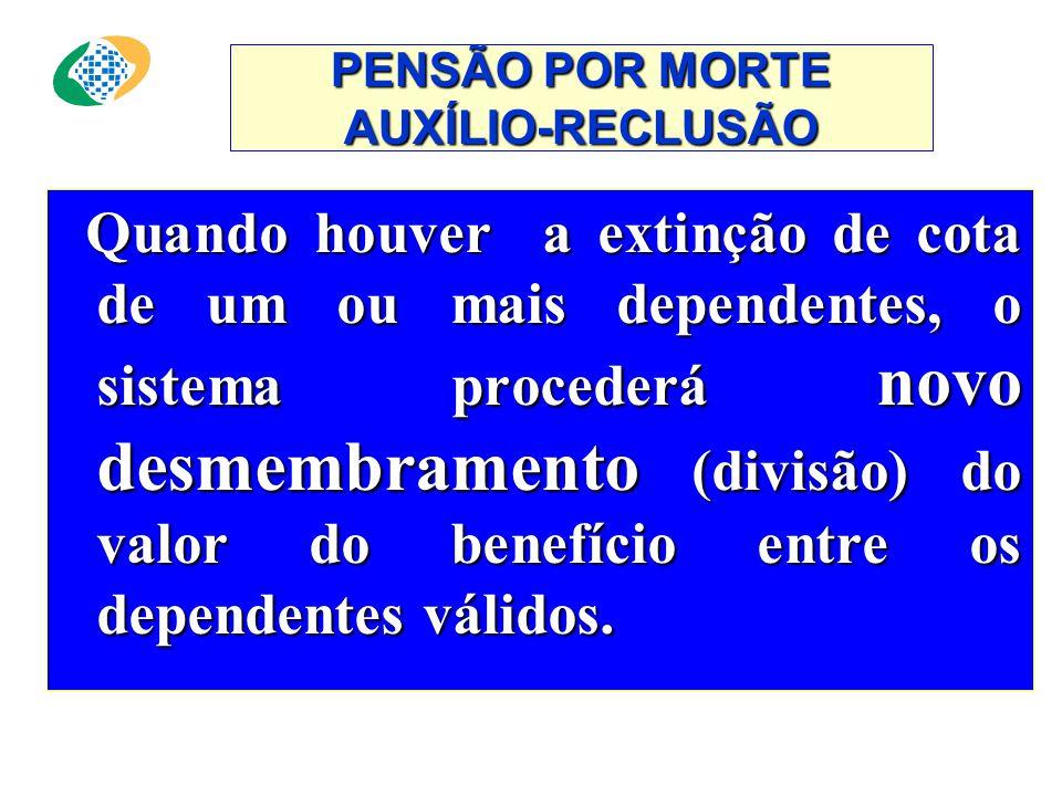 AUXÍLIO-RECLUSÃO ATENÇÃO : Deverá ser apresentado documento que comprove o efetivo recolhimento à prisão, que deverá ser renovado a cada trimestre. De