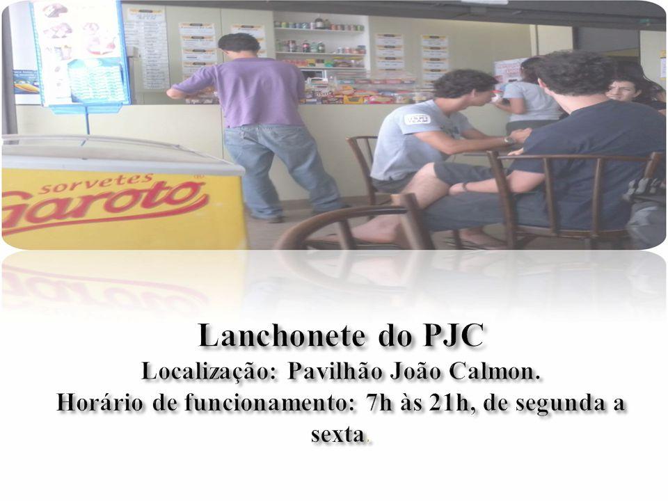  A empresa utilizada para a pequena pesquisa foi a lanchonete da UNB localizada no PJC (pavilhão Jõao Calmon) Tudo começou, quando Adson então proprietário de um outro espaço (Lanchonete Energia do Serrado) situado no ICC, decidiu reformá-la.