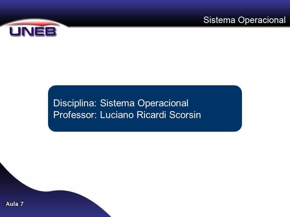 Proteção dos Processos Normalmente os processos em um sistema operacional seguem regras semelhantes, no que diz respeito a proteção, do sistema de arquivos.
