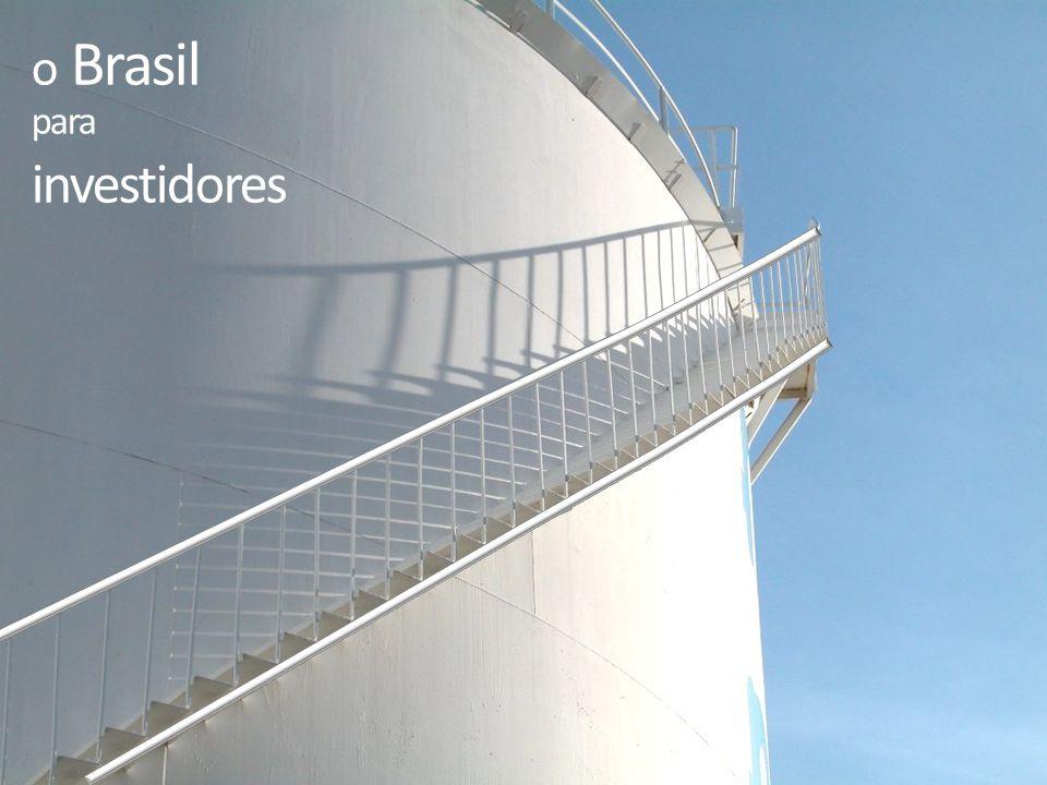 o Brasil para investidores