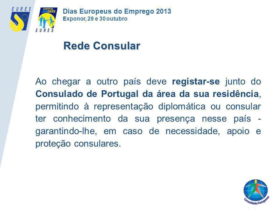 . Ao chegar a outro país deve registar-se junto do Consulado de Portugal da área da sua residência, permitindo à representação diplomática ou consular
