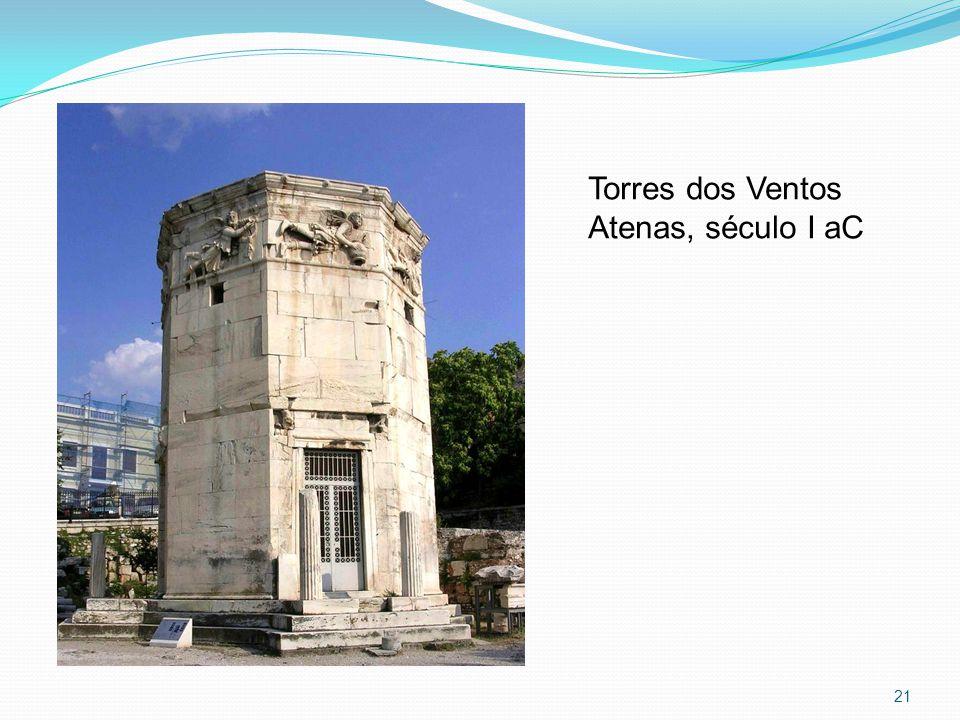 21 Torres dos Ventos Atenas, século I aC