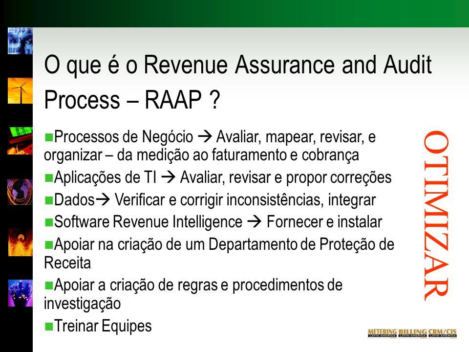 O que é o Revenue Assurance and Audit Process – RAAP .