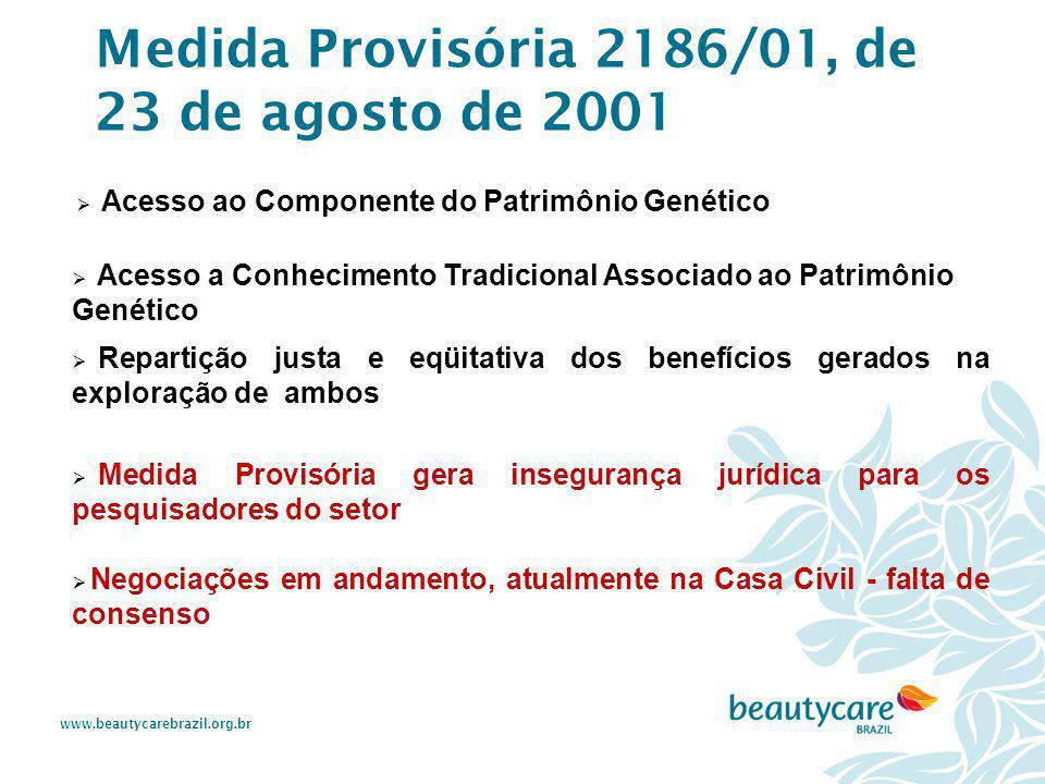 www.beautycarebrazil.org.br  Acesso ao Componente do Patrimônio Genético  Acesso a Conhecimento Tradicional Associado ao Patrimônio Genético  Repar