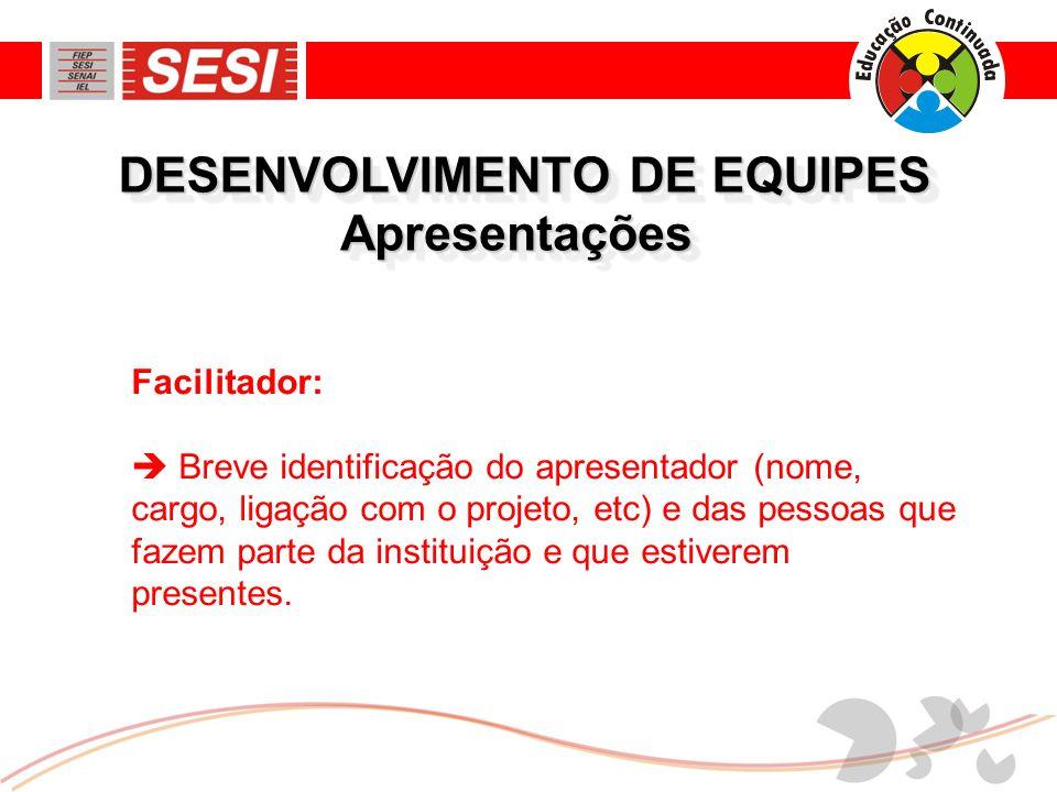 DESENVOLVIMENTO DE EQUIPES (1) Como foi resultado da tarefa.