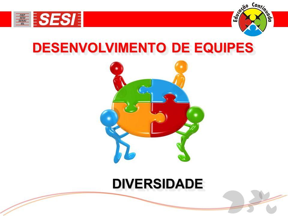 DIVERSIDADEDIVERSIDADE DESENVOLVIMENTO DE EQUIPES