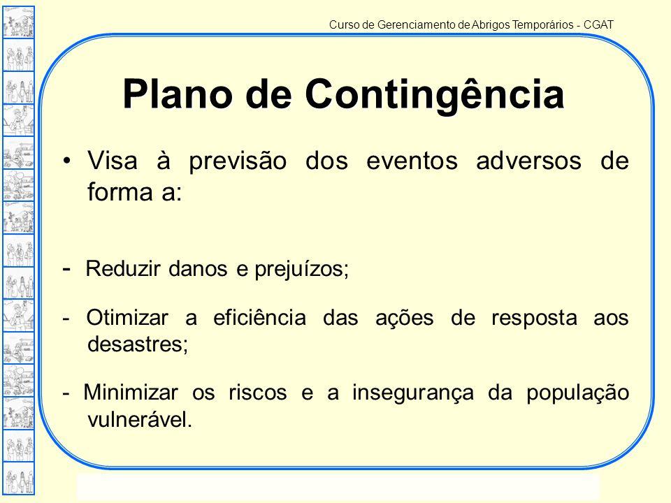 Curso de Gerenciamento de Abrigos Temporários - CGAT Lição 03 – Planejamento, acionamento e mobilização Escola de Defesa Civil - EsDEC Plano de Contin