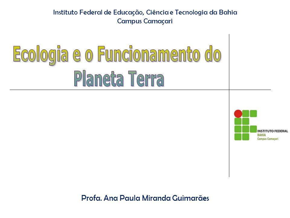 Instituto Federal de Educação, Ciência e Tecnologia da Bahia Campus Camaçari Profa.