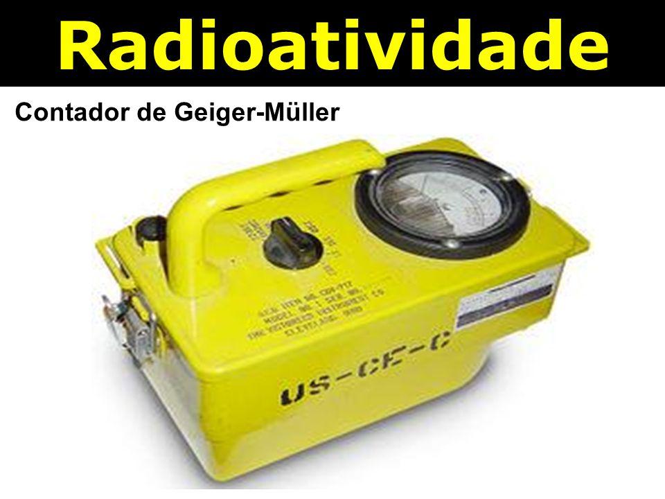 Radioatividade Contador de Geiger-Müller