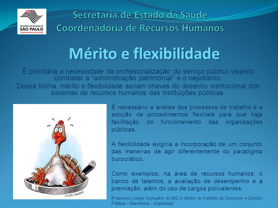 É prioritária a necessidade da profissionalização do serviço público visando combater a administração patrimonial e o nepotismo.