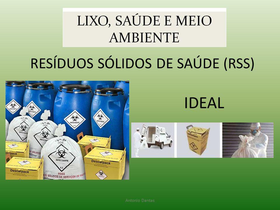 RESÍDUOS SÓLIDOS DE SAÚDE (RSS) IDEAL Antonio Dantas
