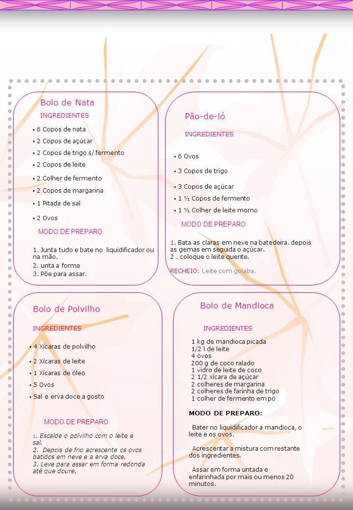 DOCE DE ABACAXI Ingrediente: -1 litro de suco de abacaxi; -800 ml de polpa de maracujá; - 1 kg de açúcar; -caldo de limão.