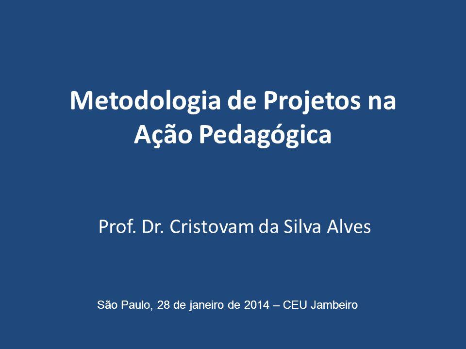 Metodologia de Projetos na Ação Pedagógica Prof.Dr.