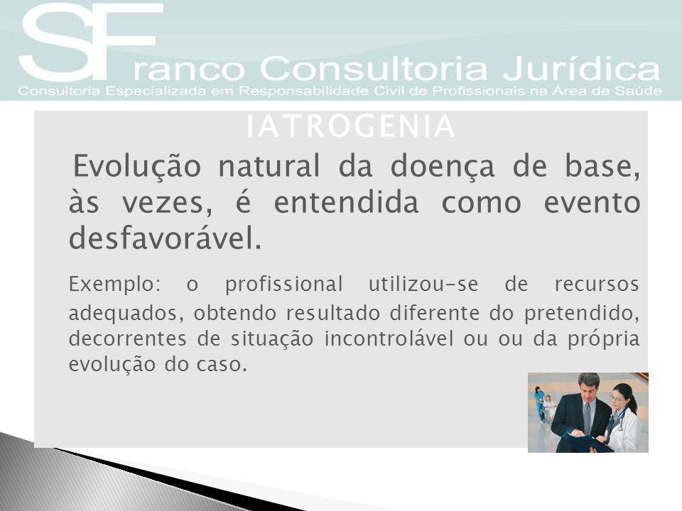 Novos rumos da Responsabilidade Médica Objetivização O fulcro é o risco e o dano objetivo.