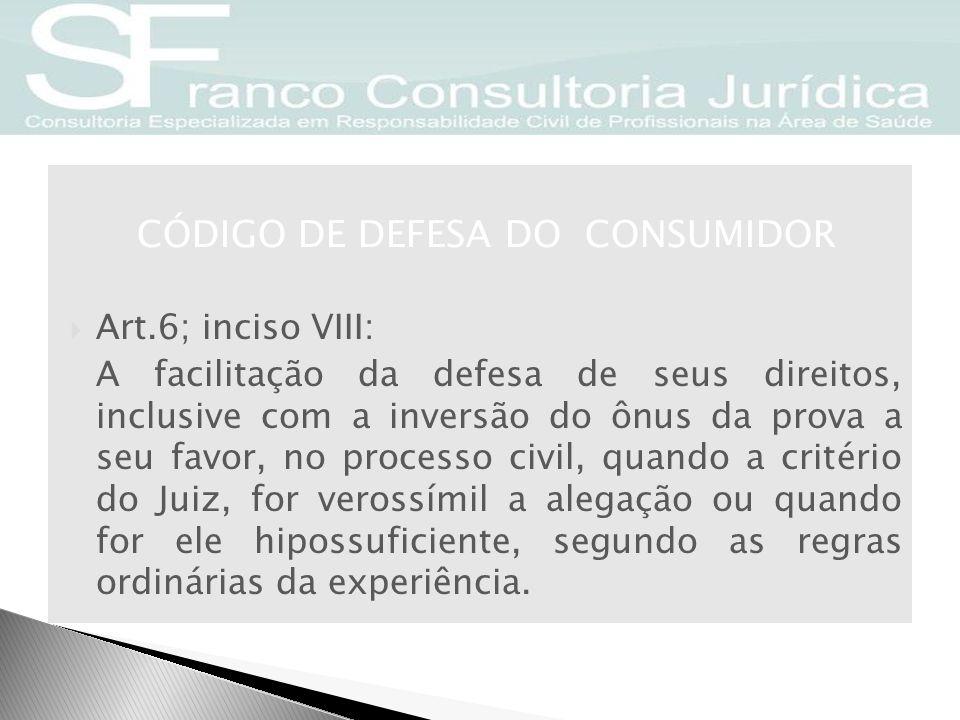 CÓDIGO DE DEFESA DO CONSUMIDOR Art.61.