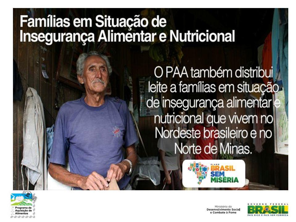 Ministério do Desenvolvimento Social e Combate à Fome Secretaria de Segurança Alimentar e Nutricional www.mds.gov.br Contato: paa@mds.gov.brpaa@mds.gov.br Telefone: (61) 2030-1202 Obrigada!
