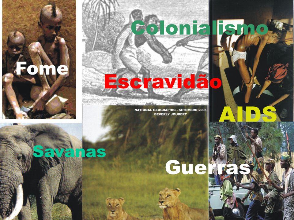 Berço da humanidade Florestas tropicais Apartheid Tribos (?)