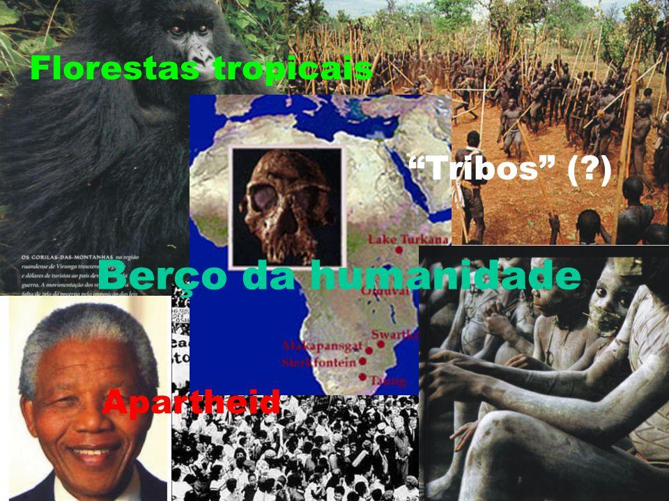 """Berço da humanidade Florestas tropicais Apartheid """"Tribos"""" (?)"""