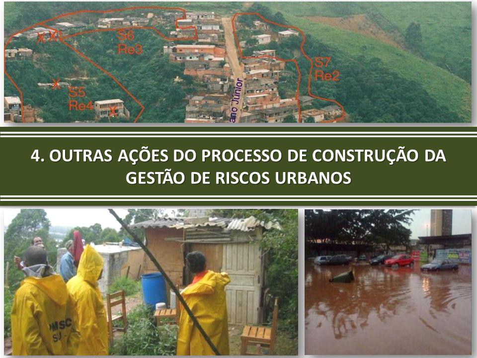  A Prefeitura elaborou novo estudo das condições de risco do município por meio da Carta Geotécnica de Suscetibilidade do Município.
