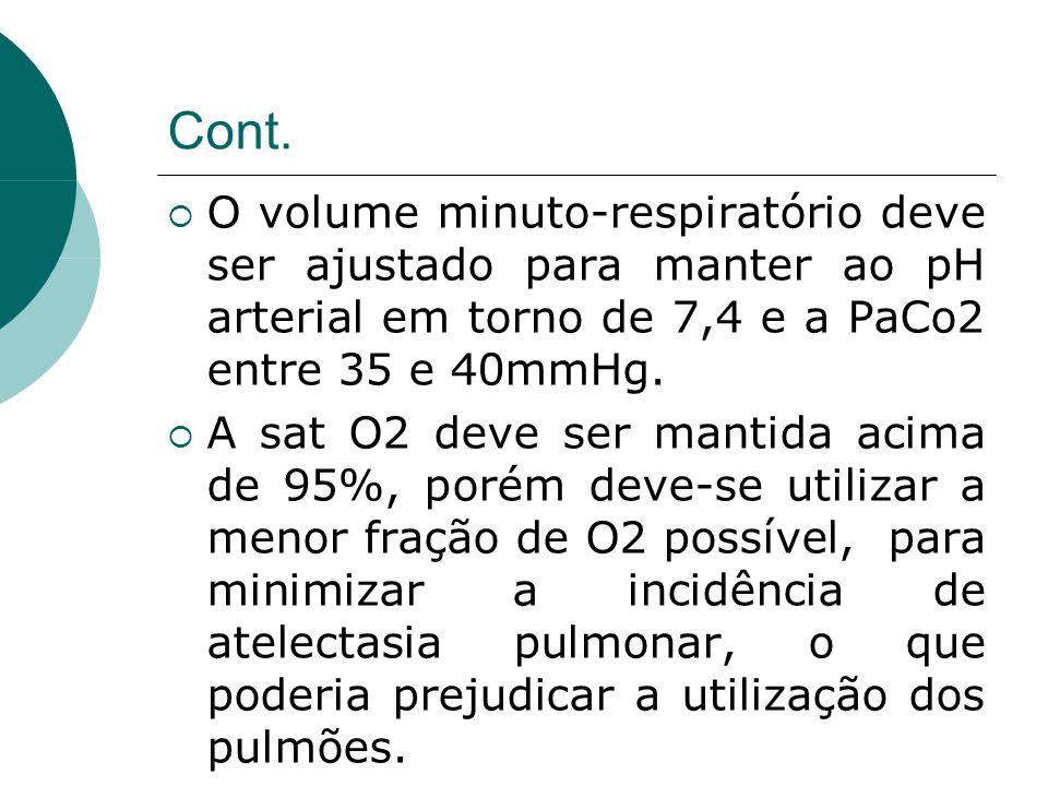 Reanimação cárdiopulmonar  Aproximadamente 10% de todos os doadores experimentam PCR, que necessita de reanimação;  As manobras devem seguir os protocolos, porém deve-se lembrar que a bradicardia não responde à atropina na presença de ME, devendo ser utilizado marcapasso nessa condição.