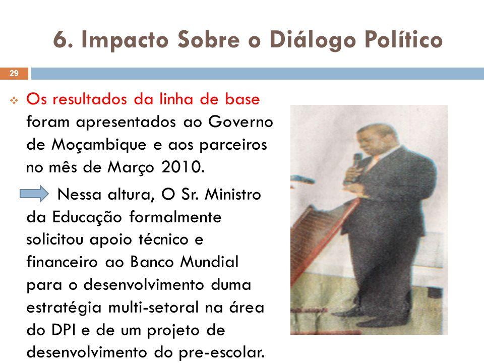 6.Impacto Sobre o Diálogo Político...
