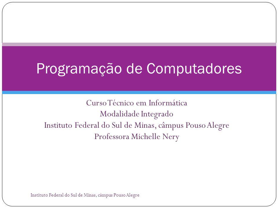Agenda Instituto Federal do Sul de Minas, câmpus Pouso Alegre 2  O que é Quociente de Inteligência.