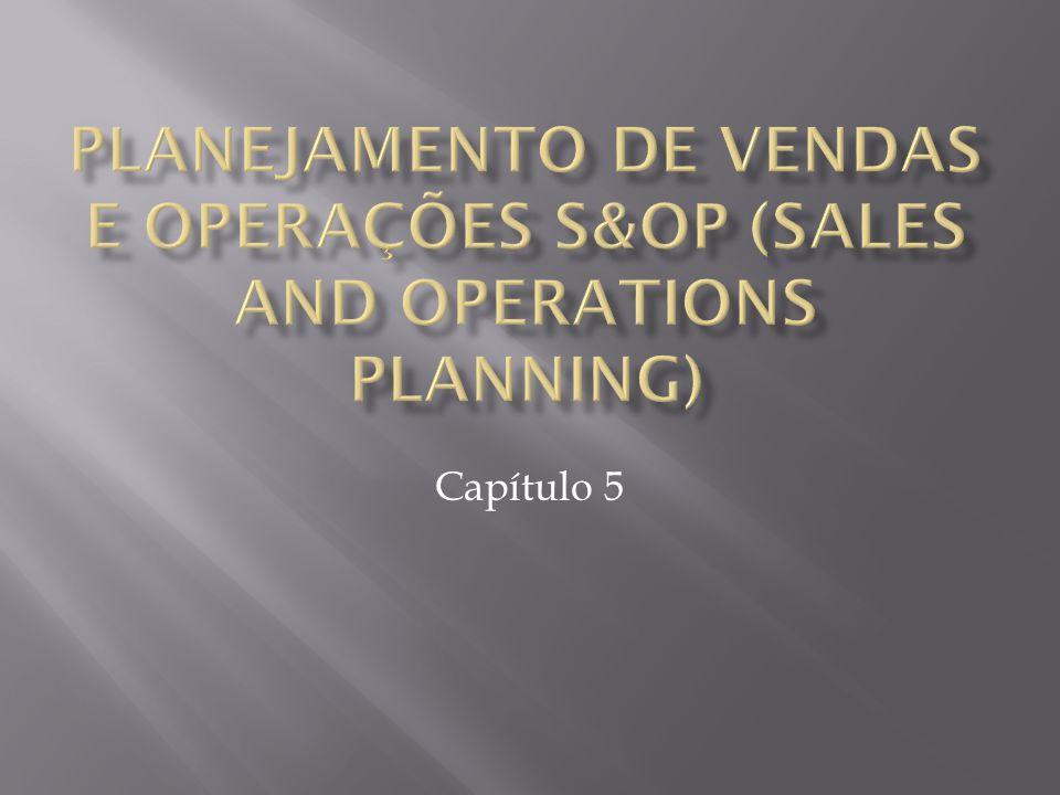  O S&OP, ou Planejamento de Vendas e Operações, é um melhor planejamento de vendas e produção, baseando-se no balanceamento entre demanda e disponibilidade do produto.