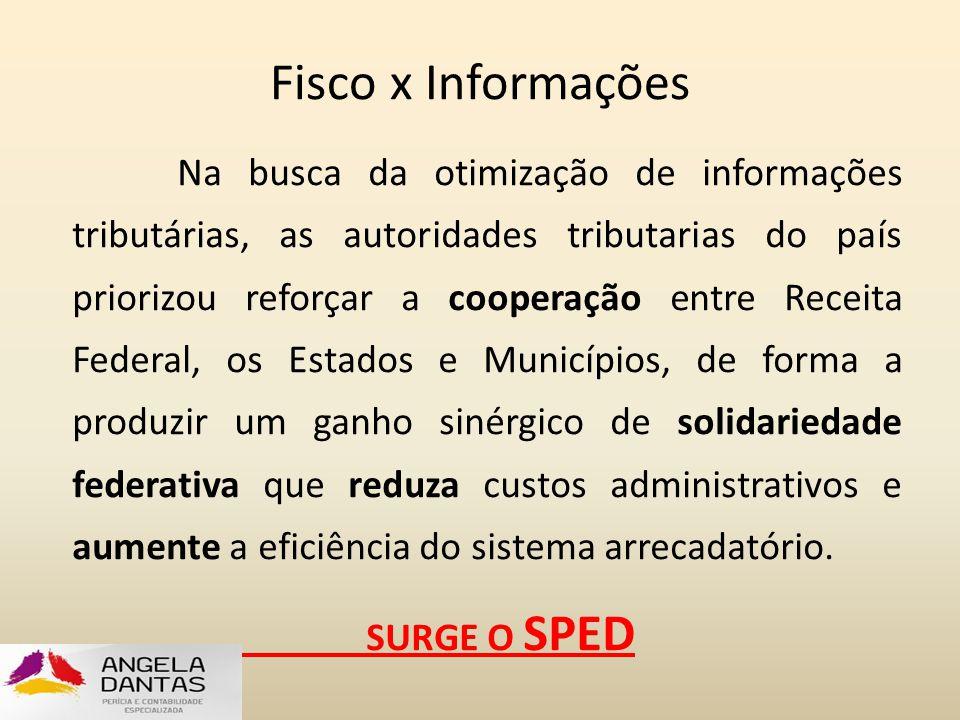 Fisco x Informações Na busca da otimização de informações tributárias, as autoridades tributarias do país priorizou reforçar a cooperação entre Receit