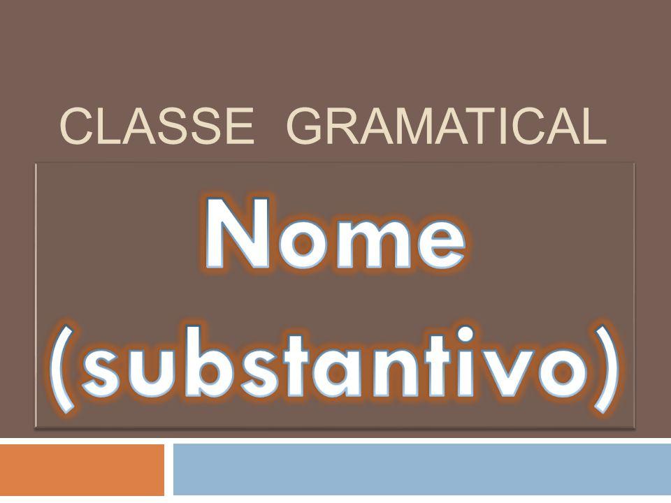 CLASSE GRAMATICAL