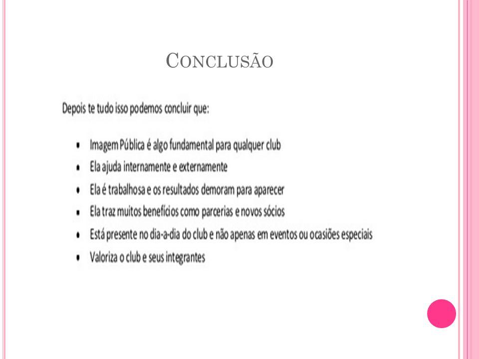 C ONCLUSÃO