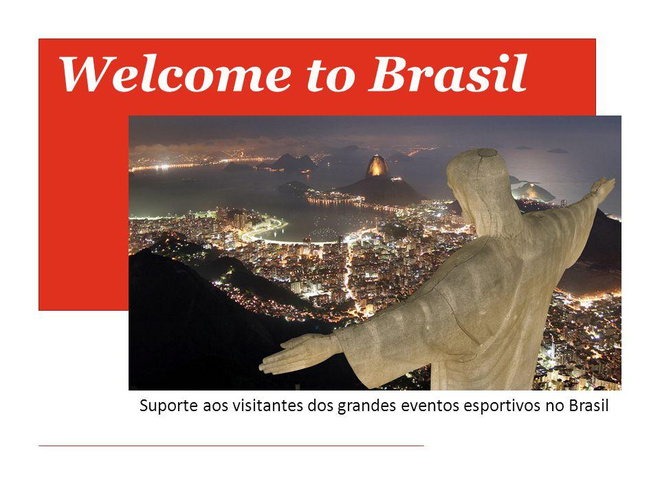 Welcome to Brasil Suporte aos visitantes dos grandes eventos esportivos no Brasil