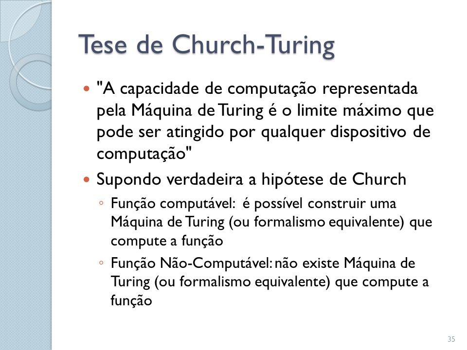 Tese de Church-Turing 