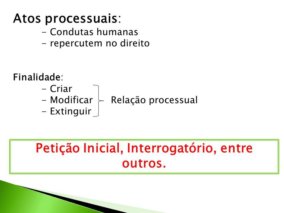 VALE LEMBRAR QUE: - Via de regra, a relação processual começa com a provocação da parte - Mas uma vez provocada, o processo desenvolve-se por IMPULSO DO JUIZ (art.