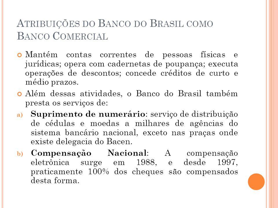 B ANCO N ACIONAL DE D ESENVOLVIMENTO E CONÔMICO E S OCIAL - BNDES É uma empresa pública federal que está atualmente vinculada ao Ministério do Desenvolvimento, Indústria e Comércio Exterior.