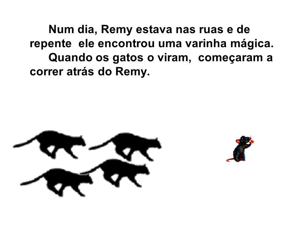 Um Rato foi para o colégio Grimbei.